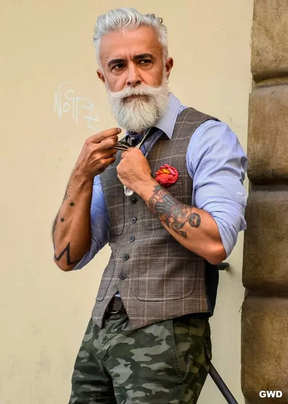 17 Extravagant Seniors Who Love to Show off Their Tattoos. Age Is Just a Number