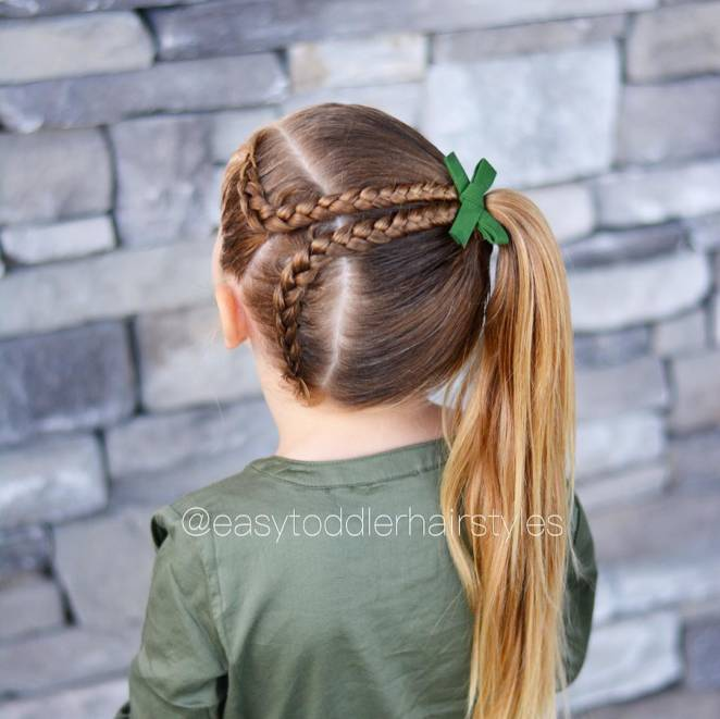 20 Hairstyle Ideas for Girls. They Are Cute and Easy to Do