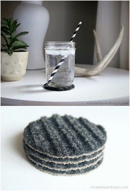 13 Great Ideas for Repurposing Old Rugs. It's Worth Giving them a Second Chance