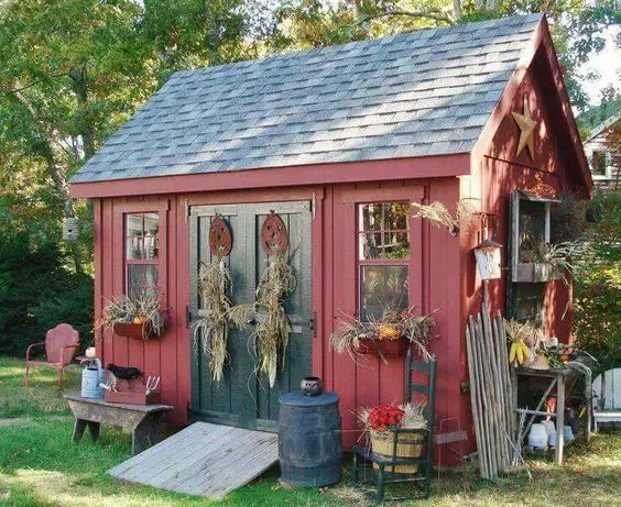20 Amazing Garden Hut Ideas. They'll Give You a Peaceful Break among the Greenery