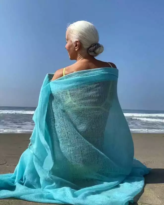 A Model in Her 60s Is Still Stunning the World with Her Beauty