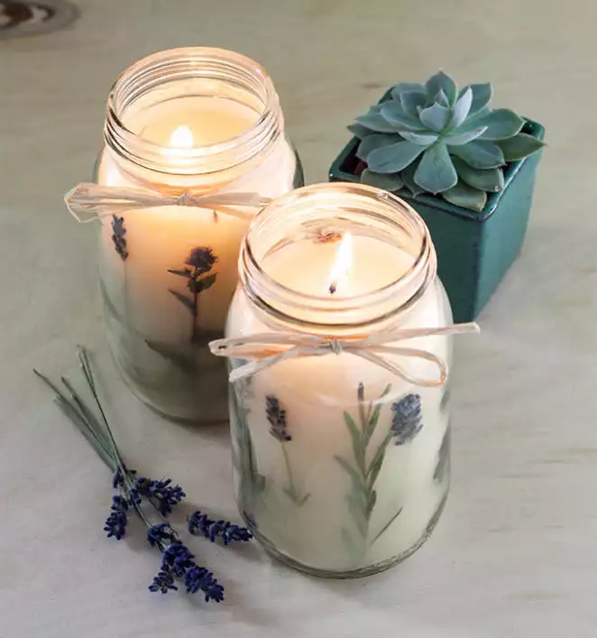 How to make a Candle in a Jar – Step by Step Instructions