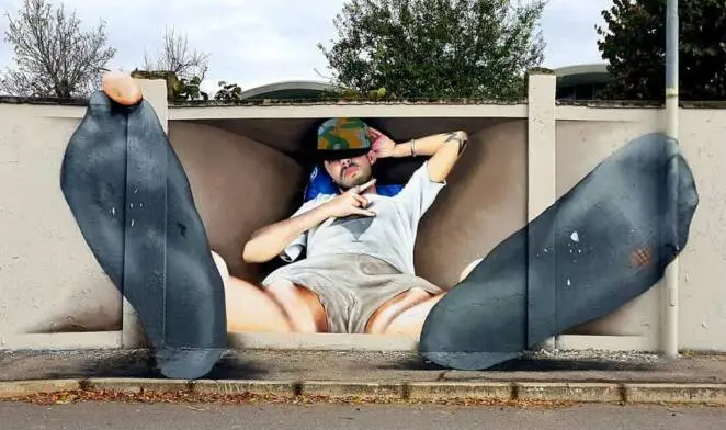 25 Three-Dimensional Murals That Effectively Deceive the Eye. People and Animals in Surreal City Spaces