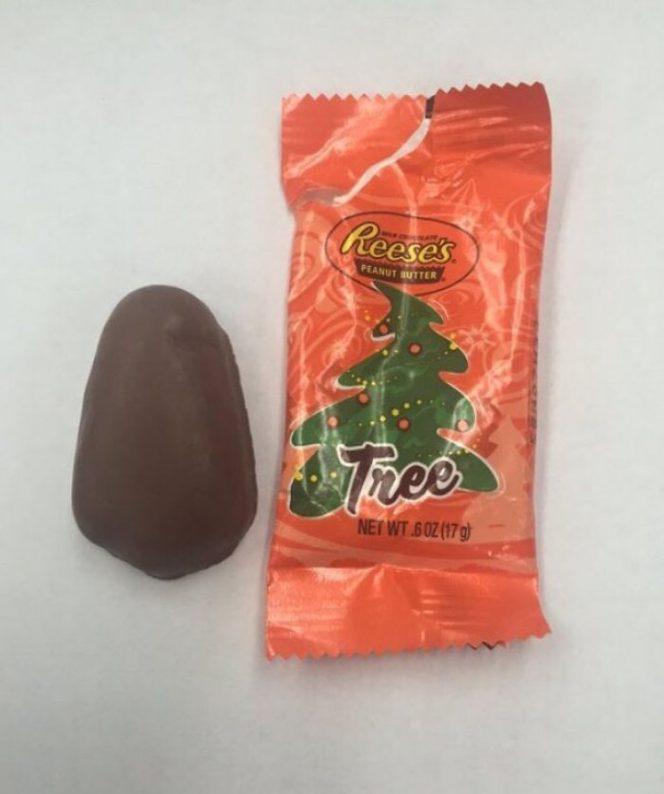 Christmas tree snack