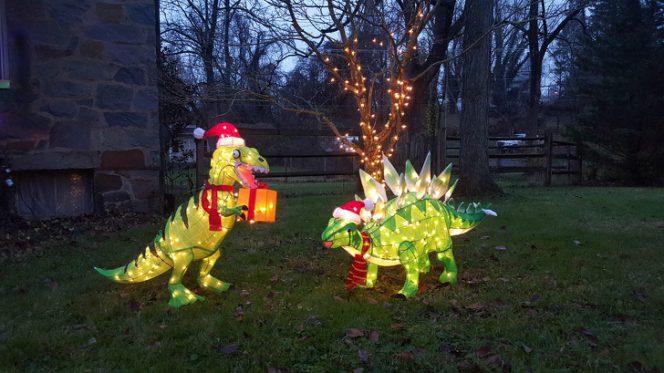 Jurassic park Christmas