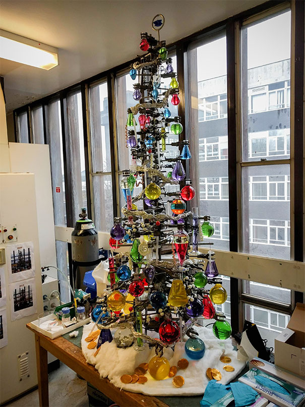 Chemist Christmas tree
