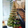 Christmas tree floor