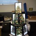Christmas tree computer lab