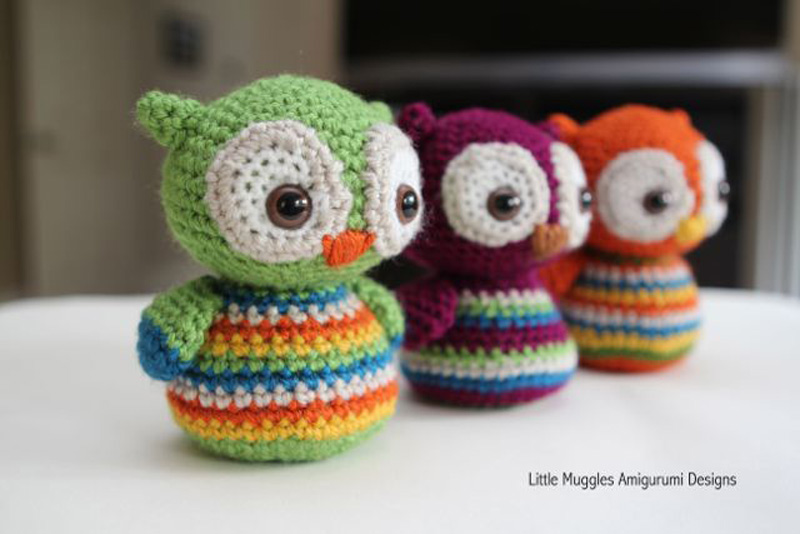 Crochet Owl : How to Make Crochet Baby Owl - Crochet - Handimania