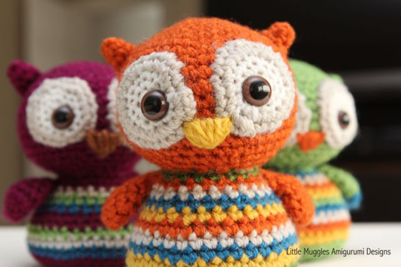 Free Crochet Pattern Small Owl : How to Make Crochet Baby Owl - Crochet - Handimania