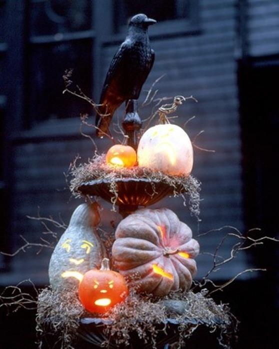 Halloween fountain