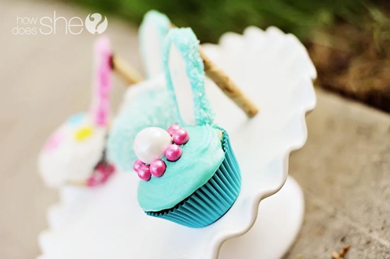 cupcake shoes how to make
