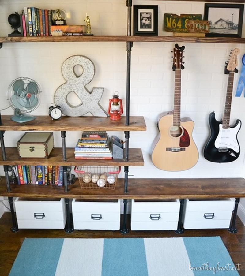 How To Make Industrial Shelves Diy Amp Crafts Handimania