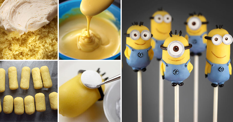 How To Make Mini Minions Cooking Handimania