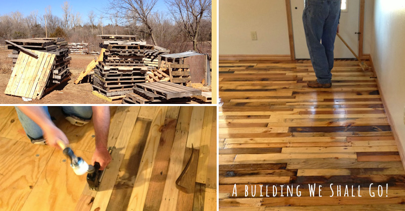 How To Make Pallet Wood Flooring