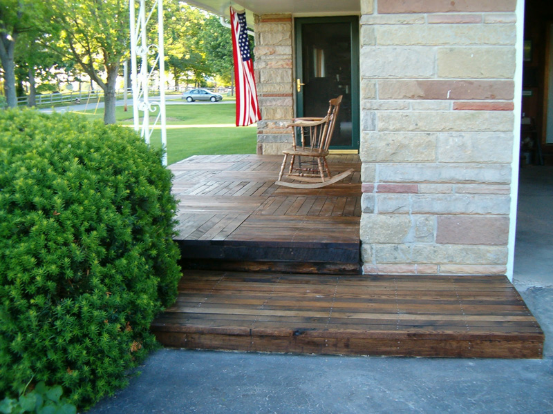 How To Build A Deck From Pallets