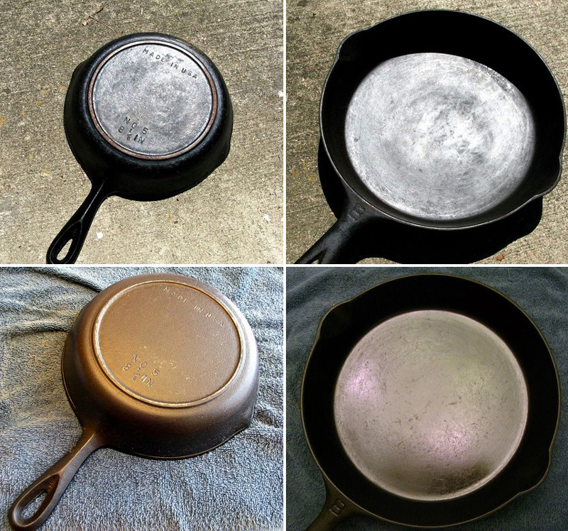 Reconditioning Amp Re Seasoning Cast Iron Cookware