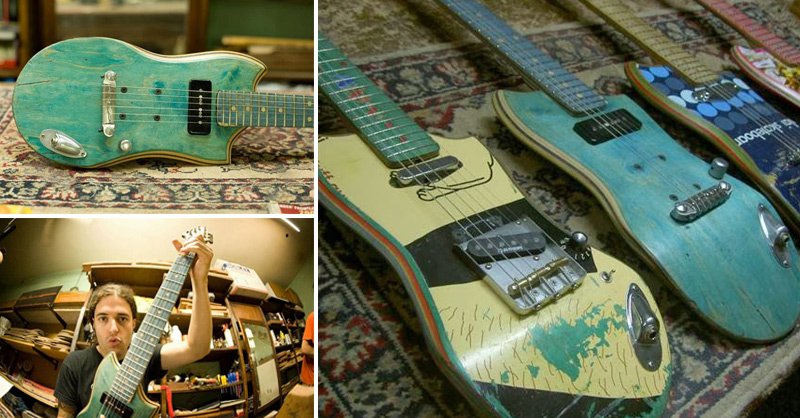Recycled-Skateboard-Guitars-fb