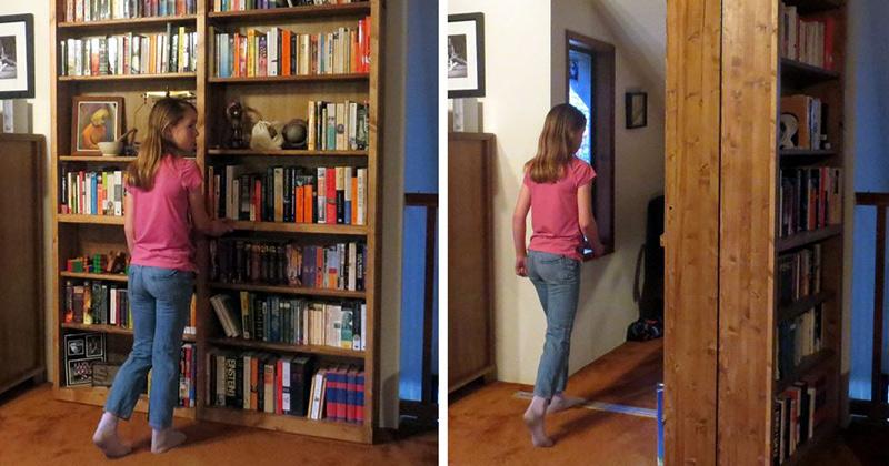 Source · How To Make Secret Door Bookcase DIY U0026 Crafts Handimania