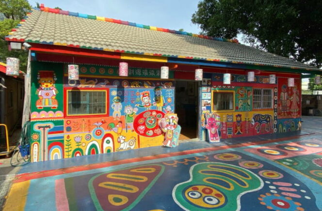 A Soon-to-Be-Knocked-Down Village in Taiwan Saved by a Retired Soldier and His Colorful Visions