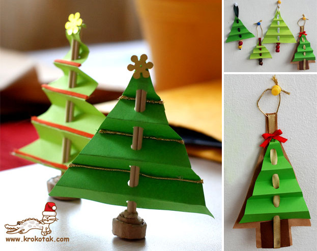 How To Make Accordion Christmas Tree Diy Amp Crafts Handimania