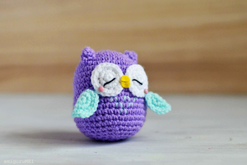 Amigurumi Owl Family : cute crochet owl patterns free