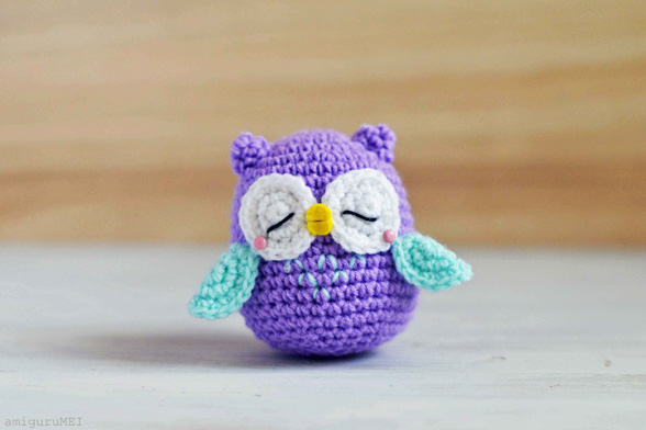 Crochet Tutorial Owl : How to Make Amigurumi Crochet Owl - Crochet - Handimania