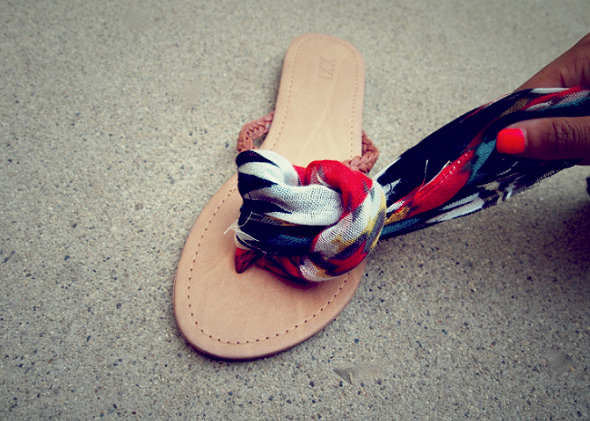 Ankle Wrap Sandals 03