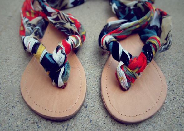 Ankle Wrap Sandals 04