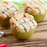Apple-Lattice Pies