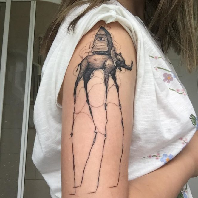 20 Photos Showing a Completely New Dimension of Tattoos