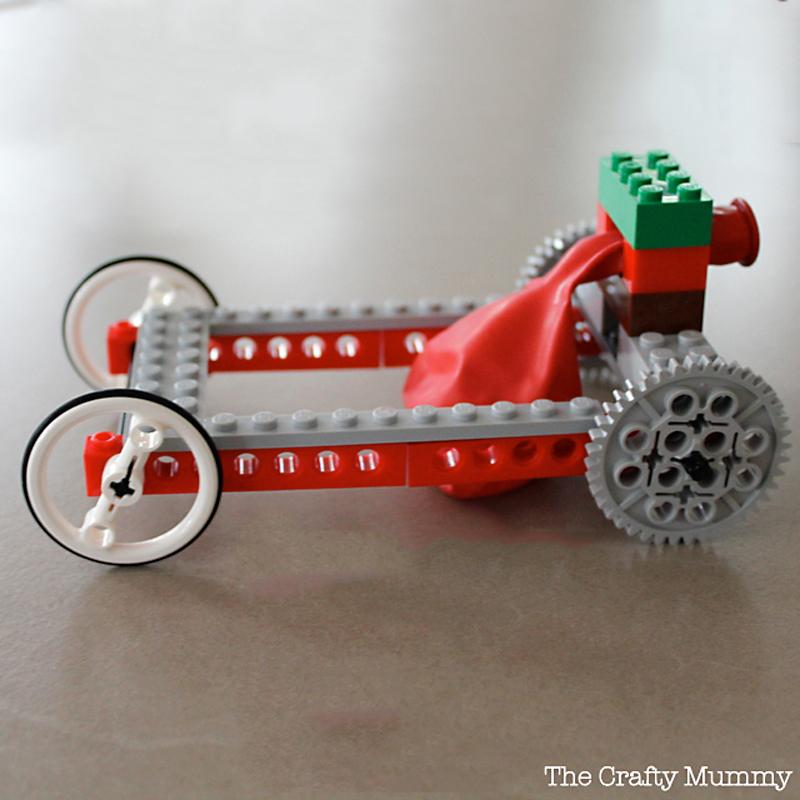 Dog Treat Dispenser >> How to Make Balloon Powered LEGO Car - DIY & Crafts ...