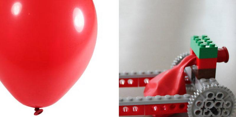 How to Make Balloon Powered LEGO Car - DIY & Crafts - Handimania