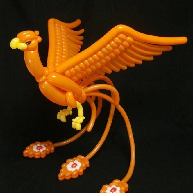 20 Marvelous Pieces Made of Balloons. They Look Gorgeous!