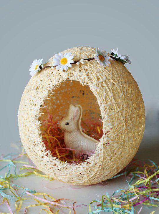 Fantastic DIY Easter Egg-Basket for All Bunnies!