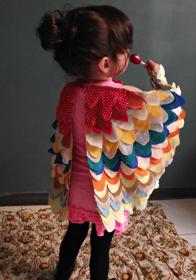 How To Make Bird Wings For Kids Diy Amp Crafts Handimania