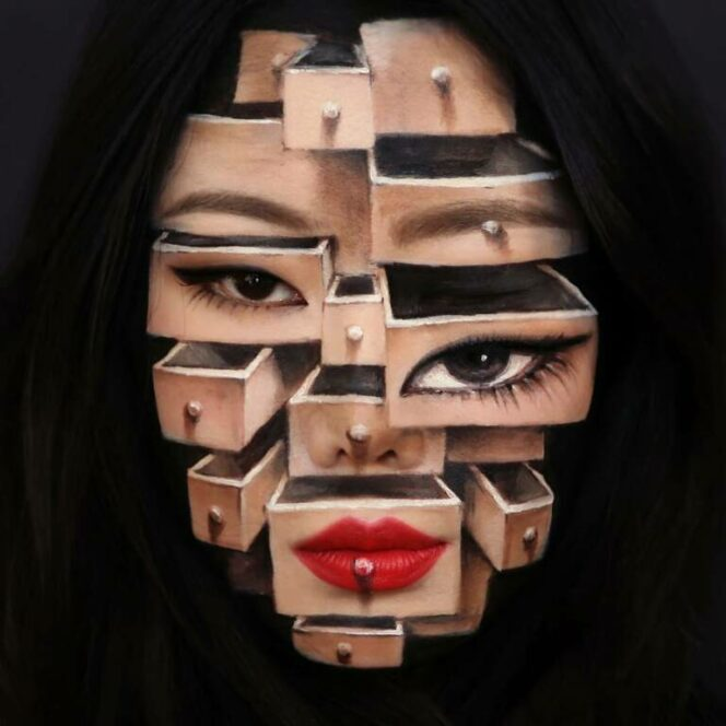 Human Body as Canvas. 27 Examples of Stunning Artistic Make-Up!
