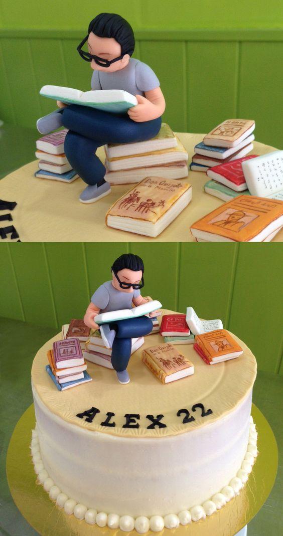 17 Fantastic Cake Ideas for Bookworms