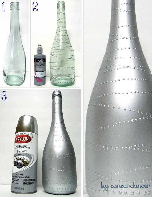 11 Ways of Changing Old Bottles into House Decoration