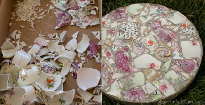 broken porcelain garden stones fb