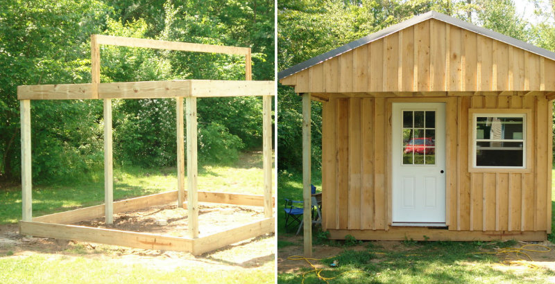 DIY Cabin Cheap