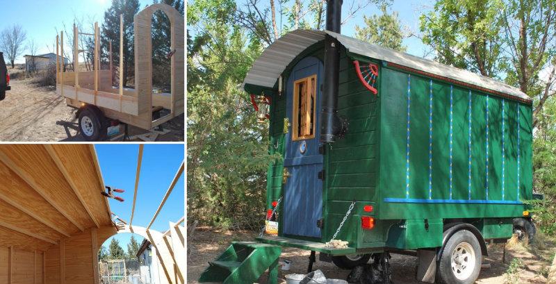 building a gypsy wagon fb