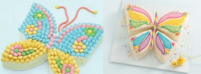 butterfly-shaped-cake-collage