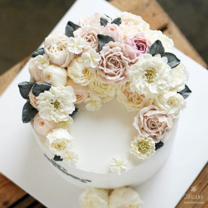 30 Most Beautiful Flowery Cakes With a Plenty of Spring Motifs