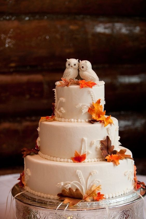 25 Astonishing Cakes Inspired by the Fall. They Smell of Pumpkins, Nuts and Caramel