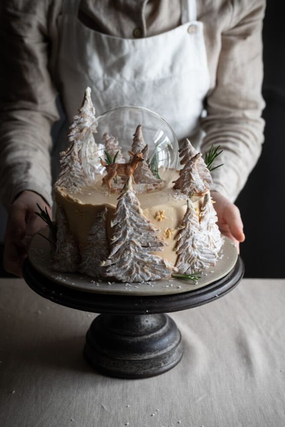 19 Beautiful Winter Cakes. Admire the Sweet Masterpieces!
