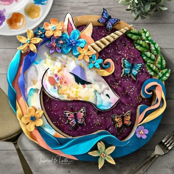 22 Stunningly Colorful Cakes. All by an Amateur Confectioner