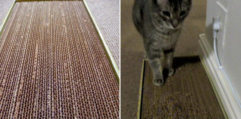How To Make Cardboard Cat Scratcher Diy Crafts Handimania