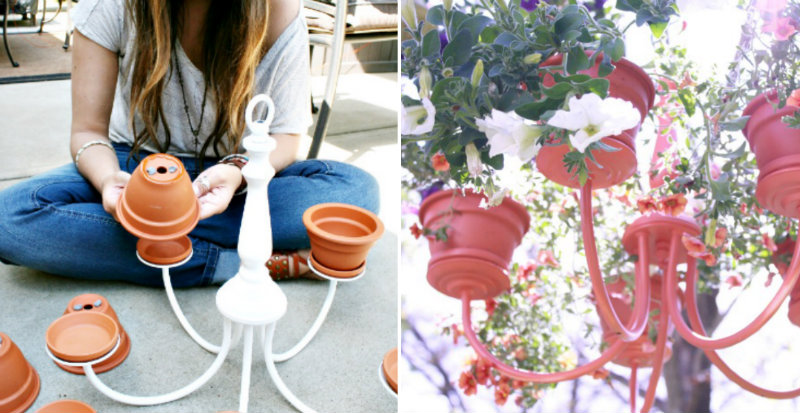 How To Make Chandelier Planter Diy Amp Crafts Handimania