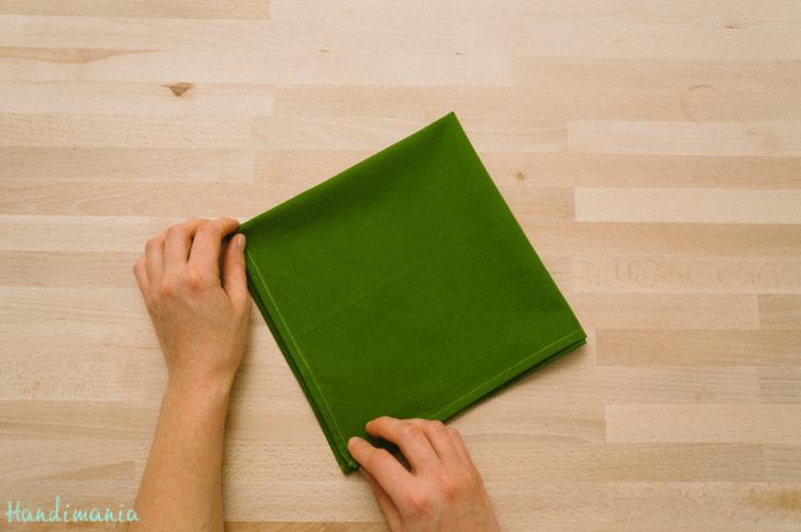 How To Make Christmas Tree Napkin Fold All Steps Diy